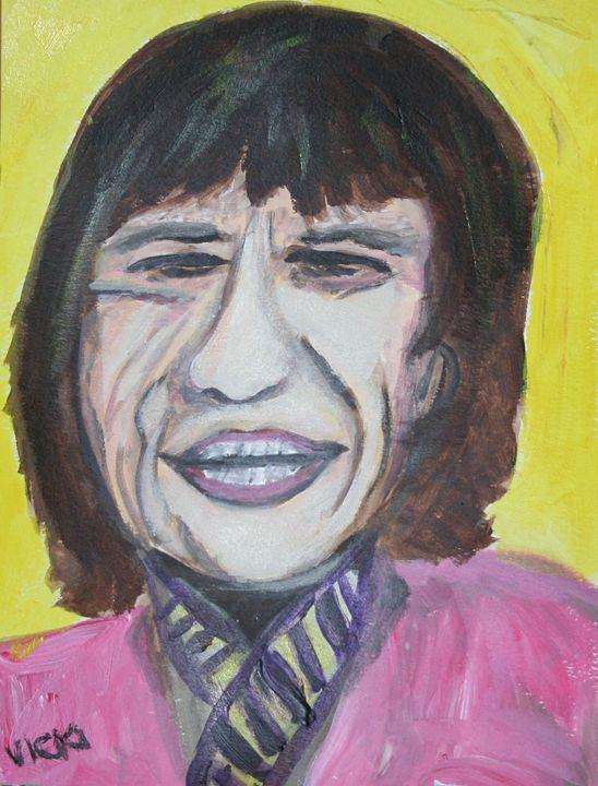 Mick - VickiJane Paintings
