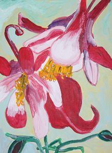 columbine - VickiJane Paintings