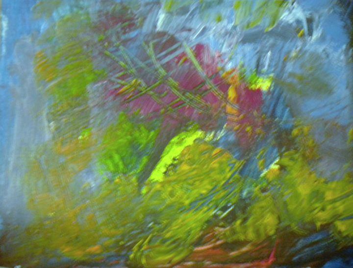 the wind - VickiJane Paintings