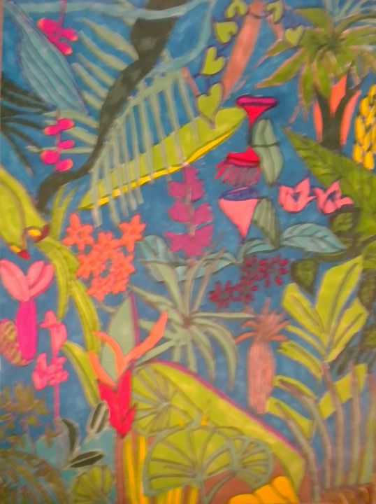 Jungle - VickiJane Paintings