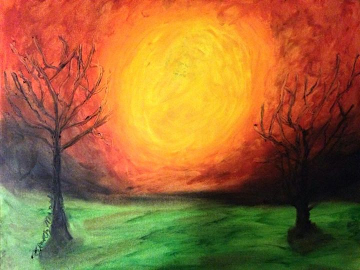 Sunset Hill - Timothy Lazar Art Gallery