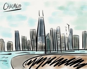 Chicago - Jerry Fess Art