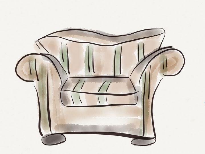 Big chair - Jerry Fess Art
