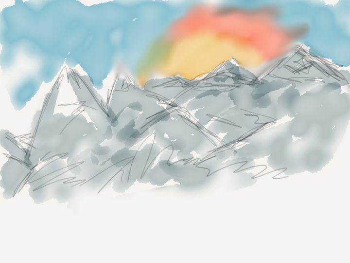 Mountains - Jerry Fess Art