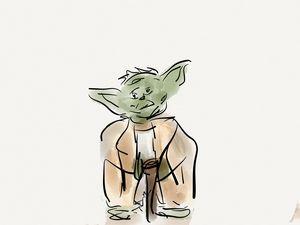 Yoda - Jerry Fess Art