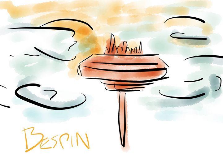 Bespin - Jerry Fess Art