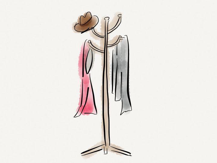 Coat hanger - Jerry Fess Art