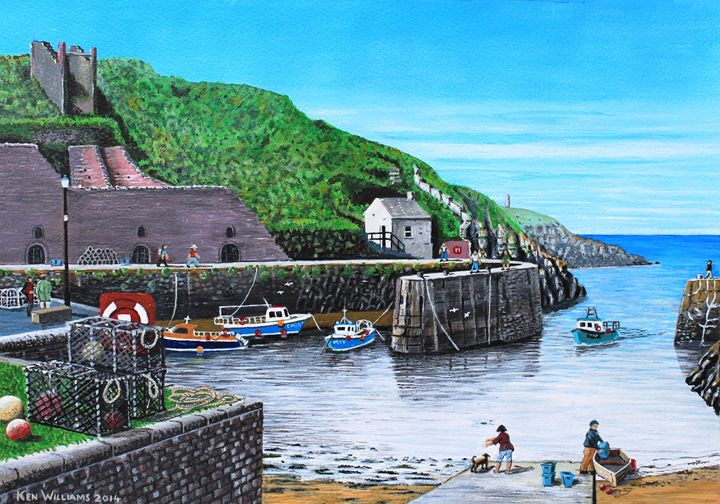 Porthgain - Kenvyn H. N. Williams