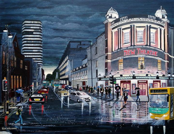 A Rainy City Night - K. H. N. Williams