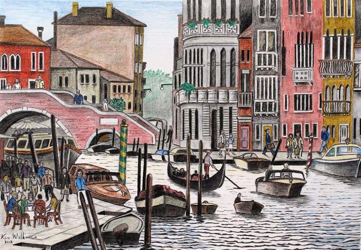 Cannaregio Canal - Kenvyn H. N. Williams