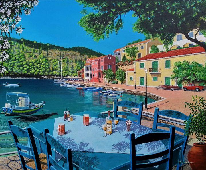 Greek Village - K. H. N. Williams