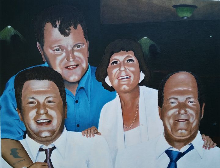 Family Group - K. H. N. Williams