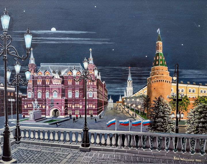 Manezhnaya Square Moscow - K. H. N. Williams
