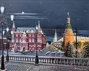 Manezhnaya Square Moscow