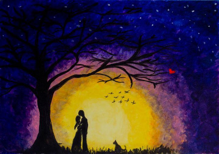 The lovers - Krystal's Art