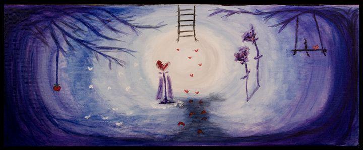 Cavern of the Ice Queen - Krystal's Art