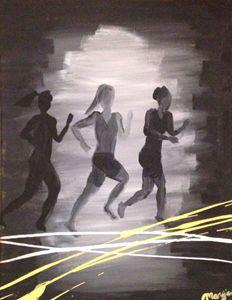 Running the Line - Elinor Martin