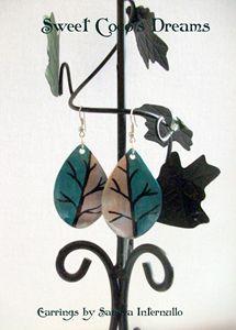 Trees Handmade Earrings