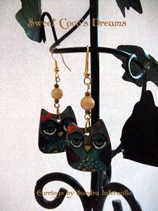 Owl Handmade Earrings