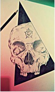Skull art 💀💀💀