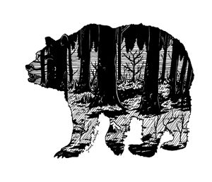Forest in a Bear