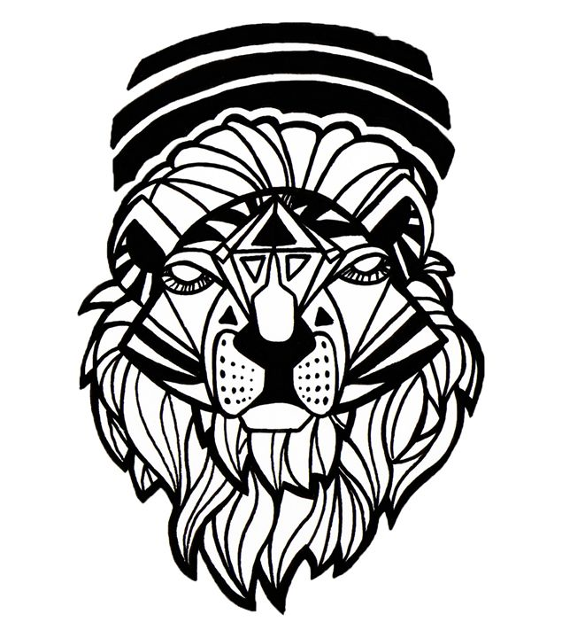 Spirit Lion - Jonne Art