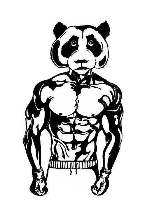 Pandamonium - Jonne Art