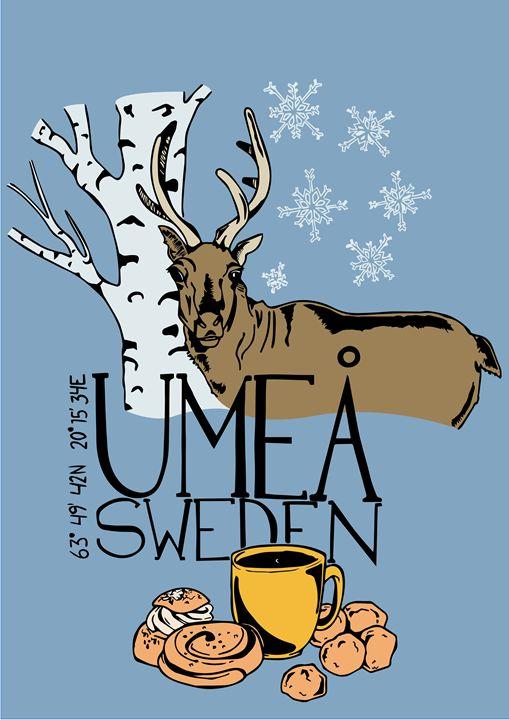Umeå Reindeer - Jonne Art