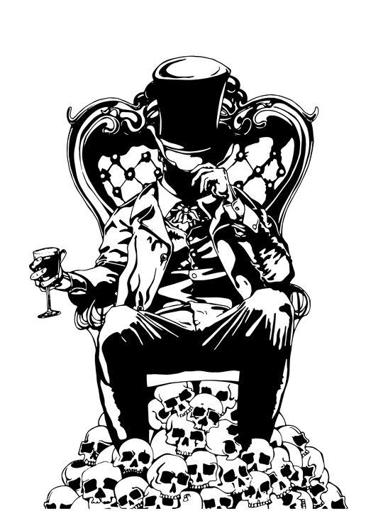 Throne of Decadence - Jonne Art