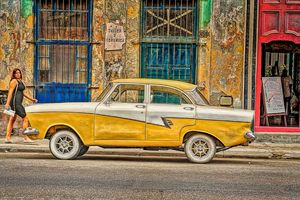 British Ford in Havana