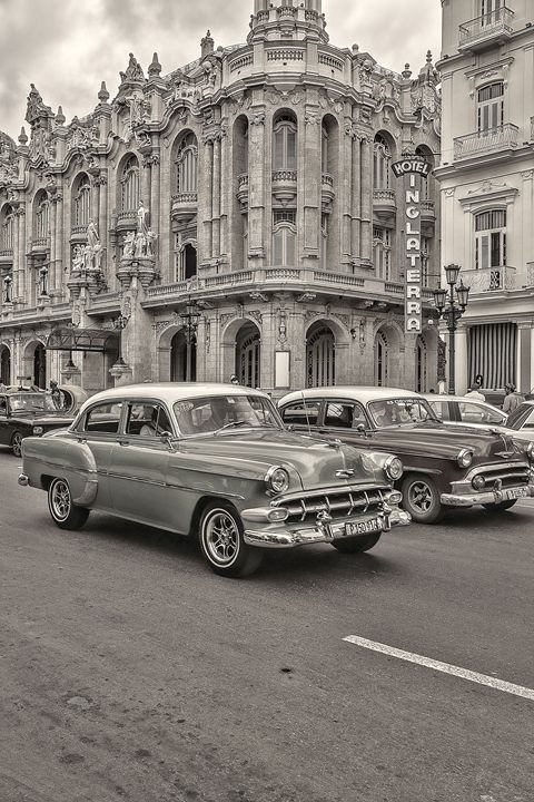 Cars in Cuba Hand Tint - Life is a Highway Photo