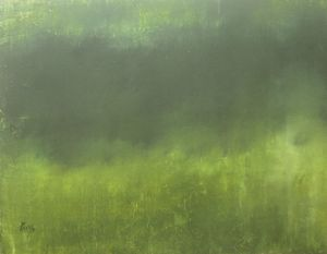 Green #1 - Paintings by Joseph Piccillo