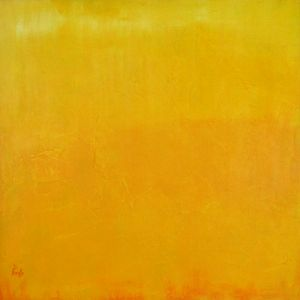 Yellow #3 - Paintings by Joseph Piccillo
