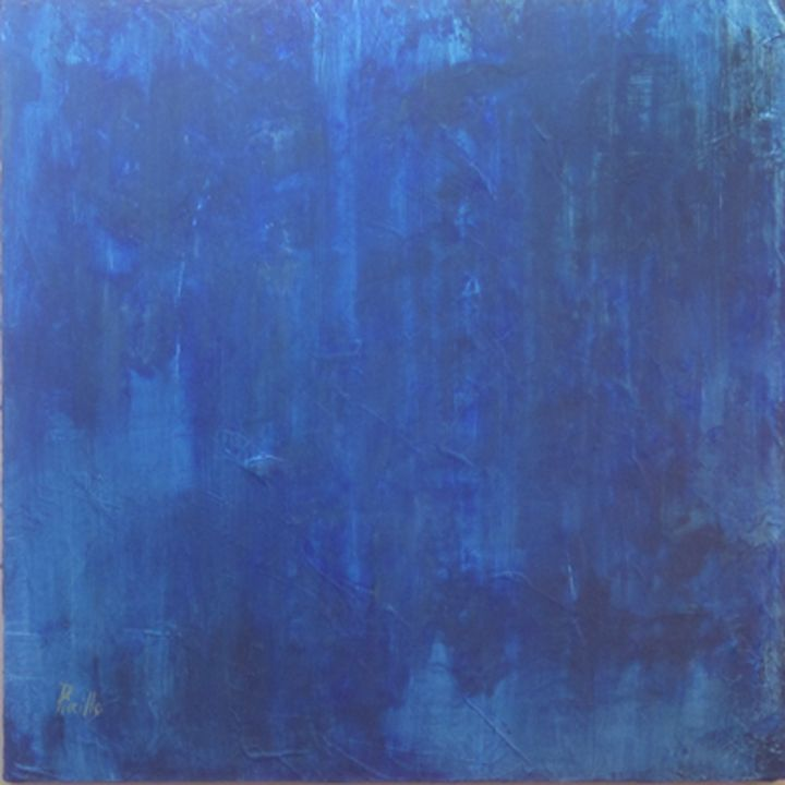 Blue#1 - Paintings by Joseph Piccillo