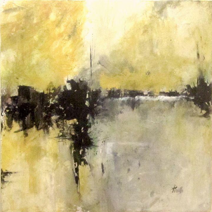 River Rain - Paintings by Joseph Piccillo