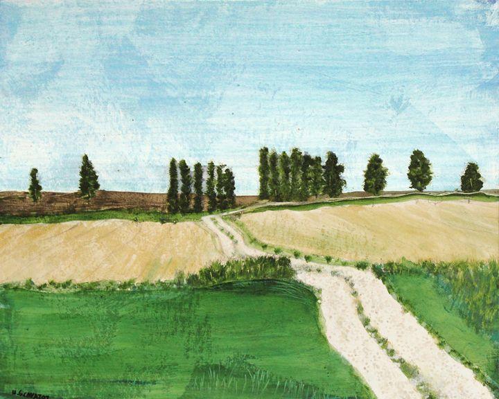 Farming South France - HGCavazoz.ArtPal.com