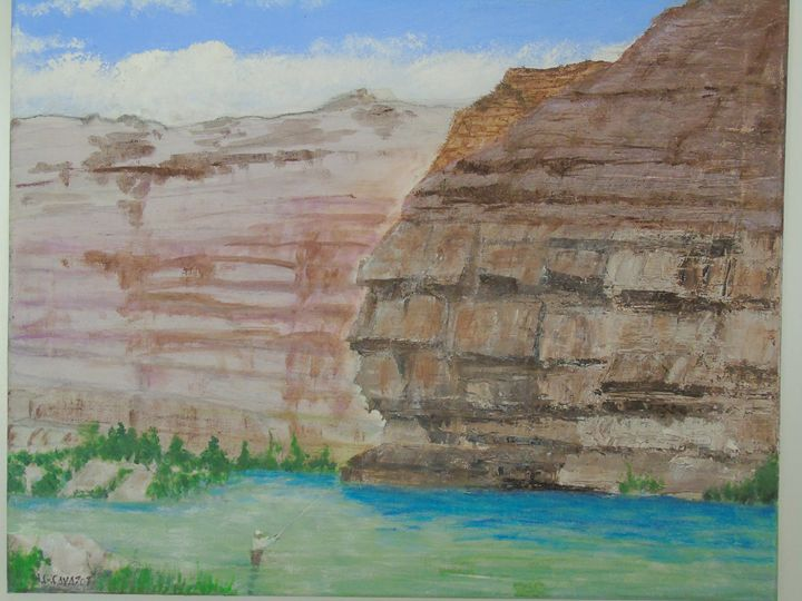 Colorado River - HGCavazoz.ArtPal.com