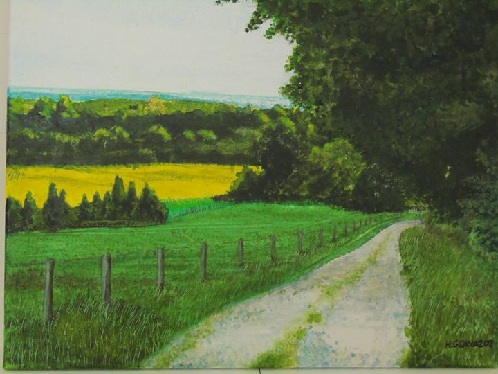 Back Road Forest - HGCavazoz.ArtPal.com