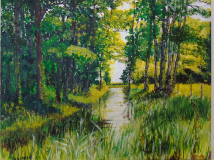 Castle Green Forest - HGCavazoz.ArtPal.com