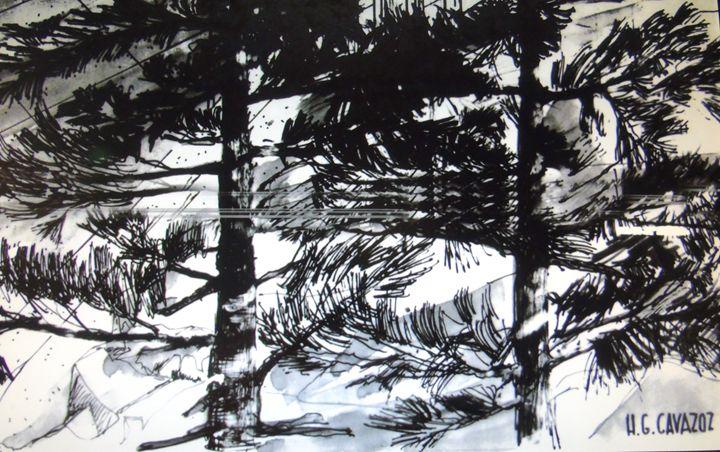 Pine Forest - HGCavazoz.ArtPal.com