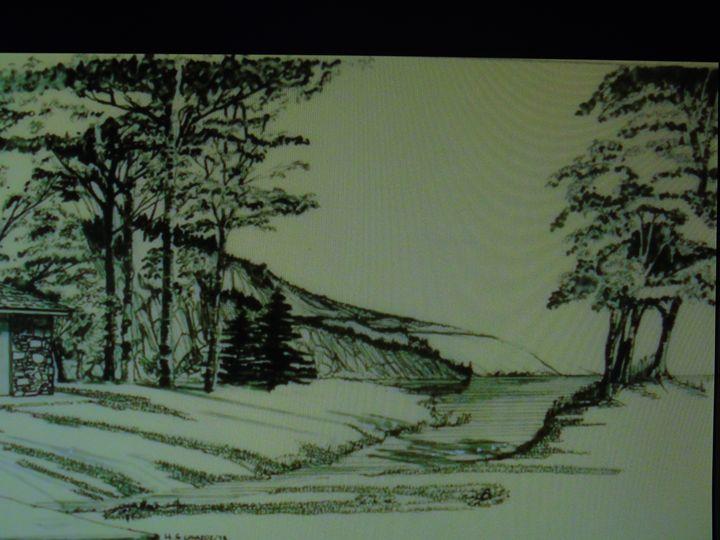 lake retrit - HGCavazoz.ArtPal.com