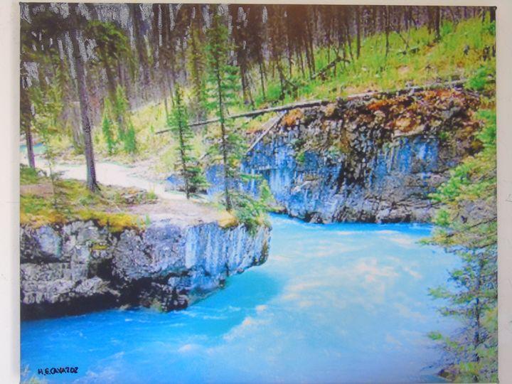 Emerald River - HGCavazoz.ArtPal.com