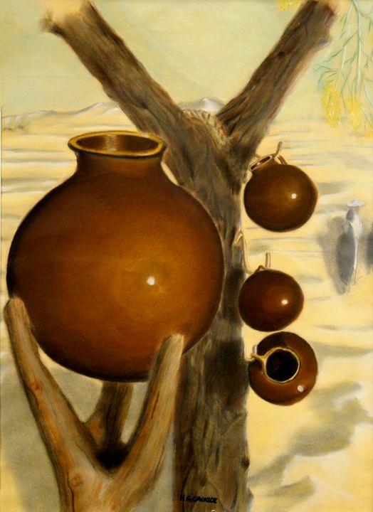 Jars in the desert 1 - HGCavazoz.ArtPal.com