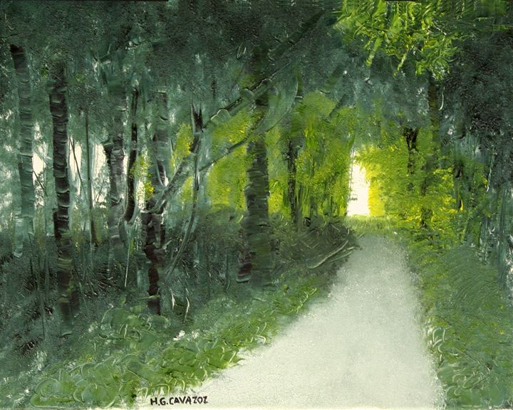 Green Forest 3 - HGCavazoz.ArtPal.com