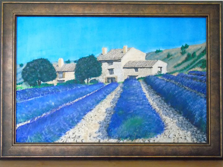 Lavender Farm Cassis - HGCavazoz.ArtPal.com