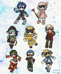 Star Ocean 5 Powerpuffs