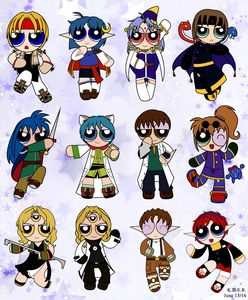 Star Ocean 2 Powerpuffs