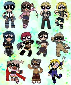 Star Ocean 3 Powerpuffs