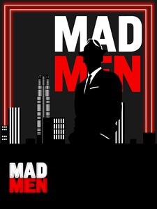 Mad Men poster by Andre Harge