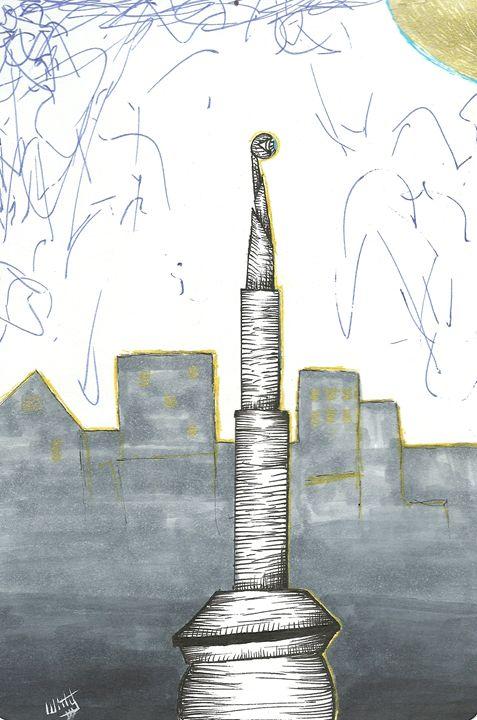 Night Tower - Julian Allen Johnson